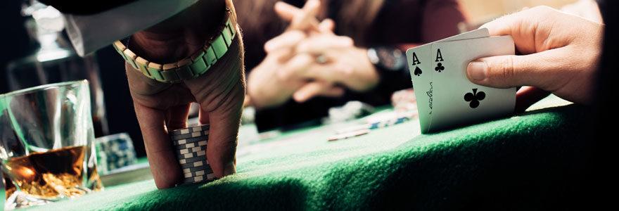 Jeu au Poker